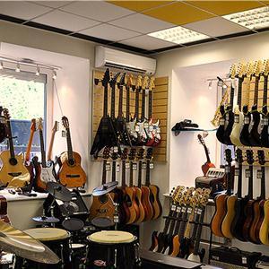 Музыкальные магазины Куженера
